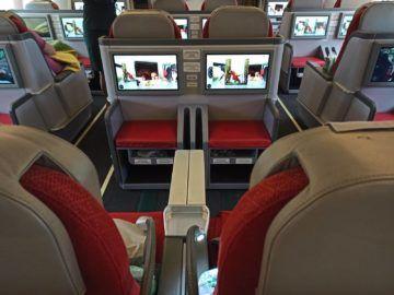 Ethiopian Airlines Business Class B767 300er Sitz Von Hinten