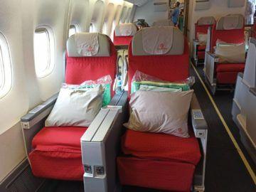 Ethiopian Airlines Business Class B767 300er Sitze Am Fenster