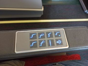 Ethiopian Airlines Business Class B767 300er Sitzeinstellung