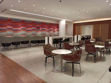 Ethiopian Airlines Sheba Platinum Lounge Addis Abeba Terminal 2 Erster Aufenthaltsraum