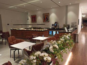 Ethiopian Airlines Sheba Platinum Lounge Addis Abeba Terminal 2 Mittlerer Essbereich