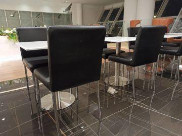 Ethiopian Airlines Sheba Platinum Lounge Addis Abeba Terminal 2 Steckdosen Im Boden