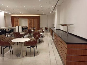 Ethiopian Airlines Sheba Platinum Lounge Addis Abeba Terminal 2 Zukünftiges Buffet