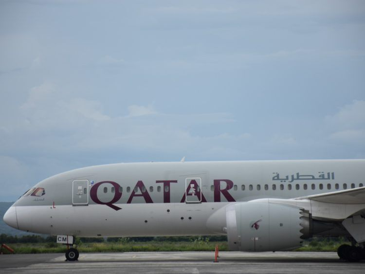Qatar Airways B787 8 Kilimanjaro