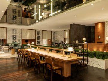 Sheraton Grand Dubai Community Table Copyright