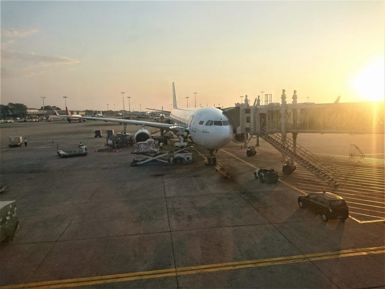 SriLankan Airlines Airbus A330 300 Beim Boarding
