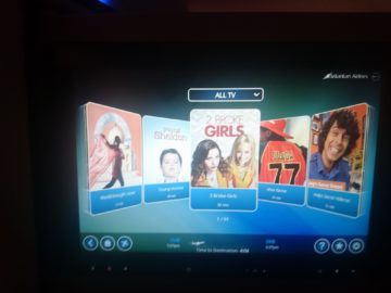 Srilankan Airlines Airbus A330 300 Entertainment Serien