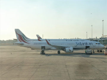 Srilankan Airlines Airbus Colombo