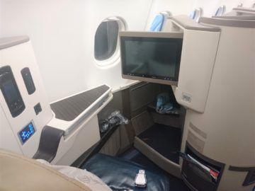 Srilankan Airlines Business Class A330 Einzelsitz Von Hinten