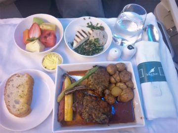 Srilankan Airlines Business Class A330 Lamm