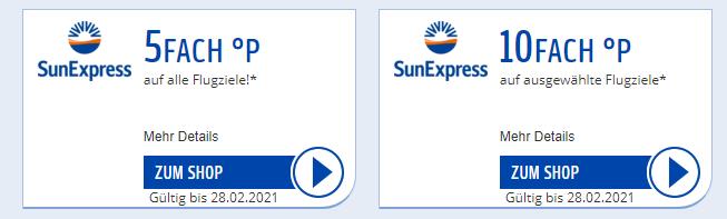 Sunexpress Payback Coupon
