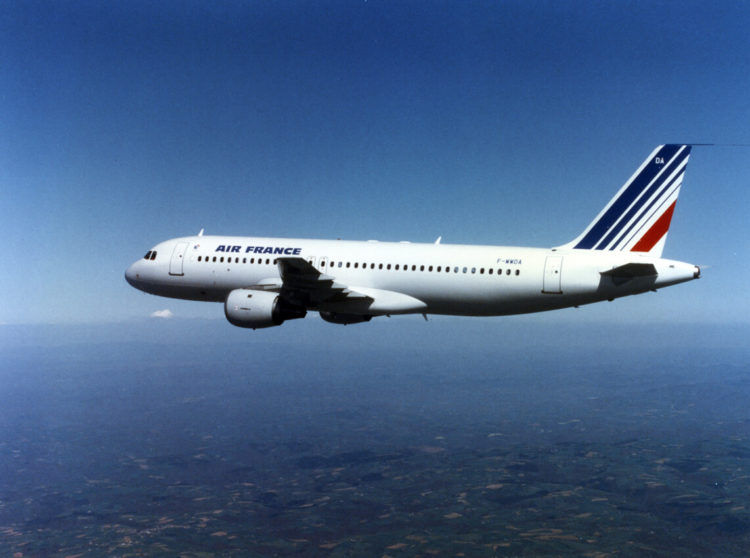 Air France Airbus A320 100 Copyright Air France