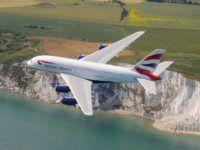 British Airways A380 Copyright