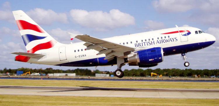 British Airways Airbus A318 Copyright British