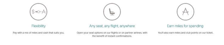 Cathay Pacific Miles Plus Cash Bestandteile