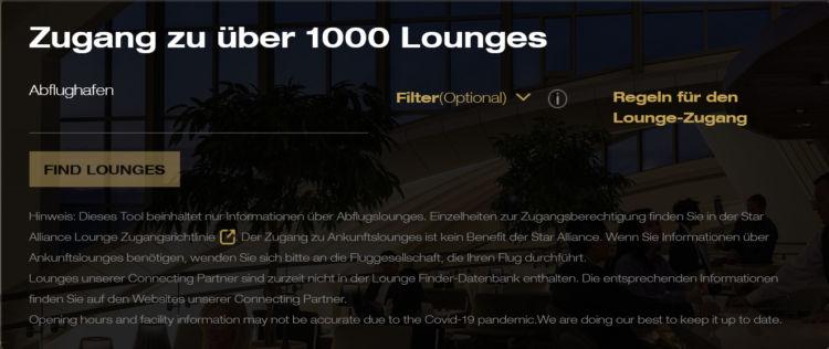 Stara Alliance Lounge Finder
