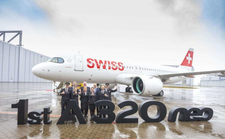 Swiss Airbus A320 Neo Copyright Airbus