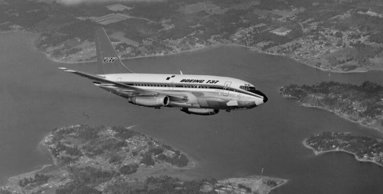 Boeing 737 100 Copyright Boeing Seattle Museum Of Flight