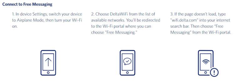 Delta Air Lines Kostenfrei Nachrichten Schreiben