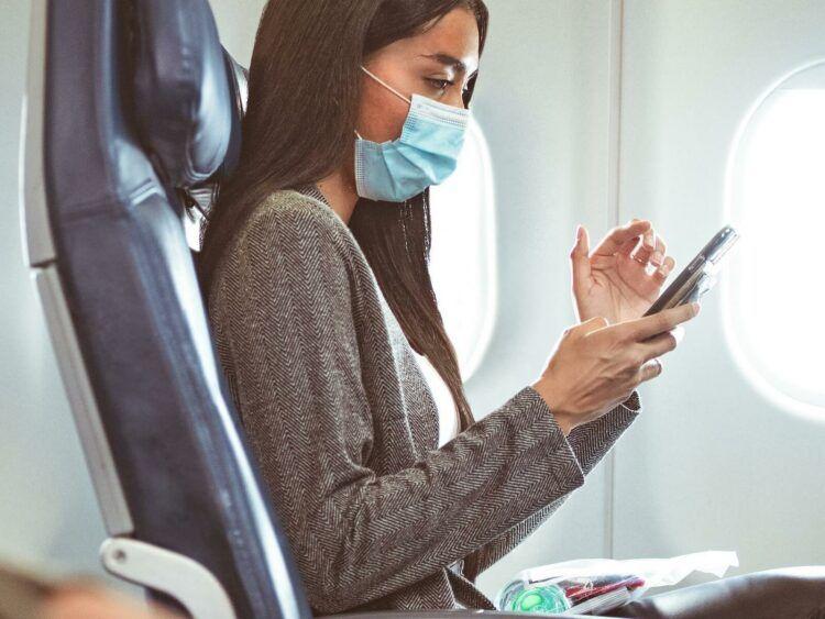 Delta Air Lines Wifi An Bord Copyright
