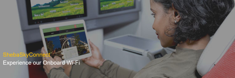 Ethiopian Airlines Wifi An Bord Mit Shebaskyconnect