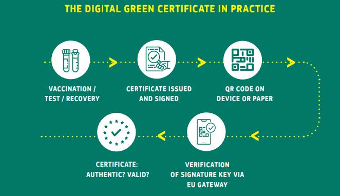 Wie der Grüne Pass in der Praxis funktionieren soll