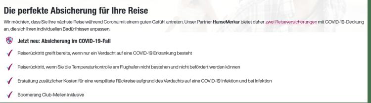 Eurowings Neue Leistungen Reiseversicherungen