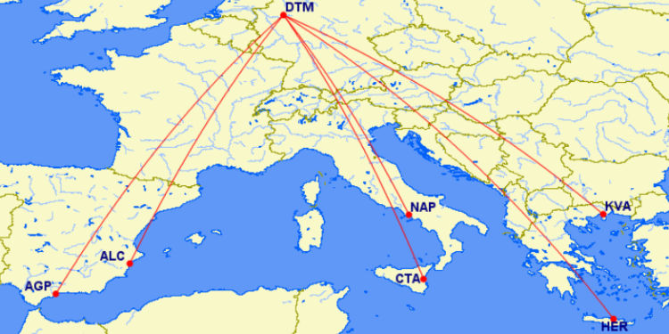 Eurowings Sechs Neue Routen Ab Dortmund Juni 2021