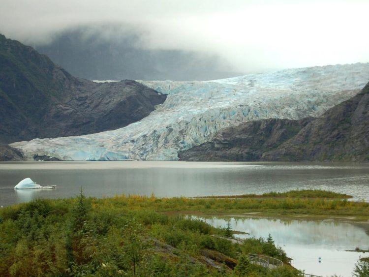 Mendenhall Glacier Juneau Unsplash