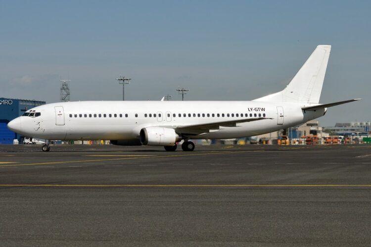 Menkor Aviation Boeing 737 400 Copyright Menkor Aviation