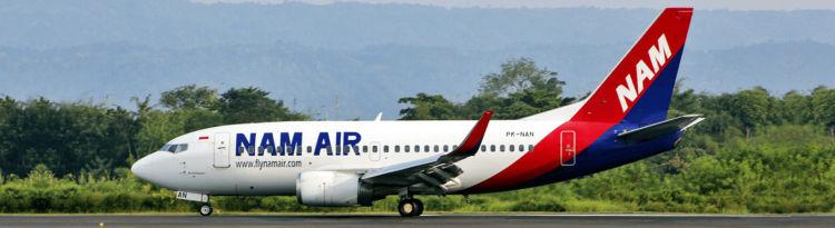 Nam Air Boeing 737 500 Copyright Nam Air