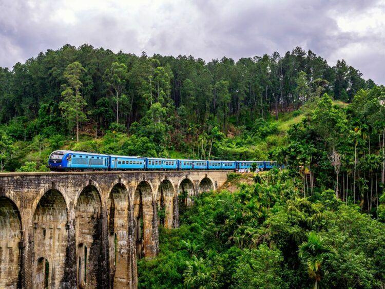 Nine Arches Bridge Sri Lanka Unsplash