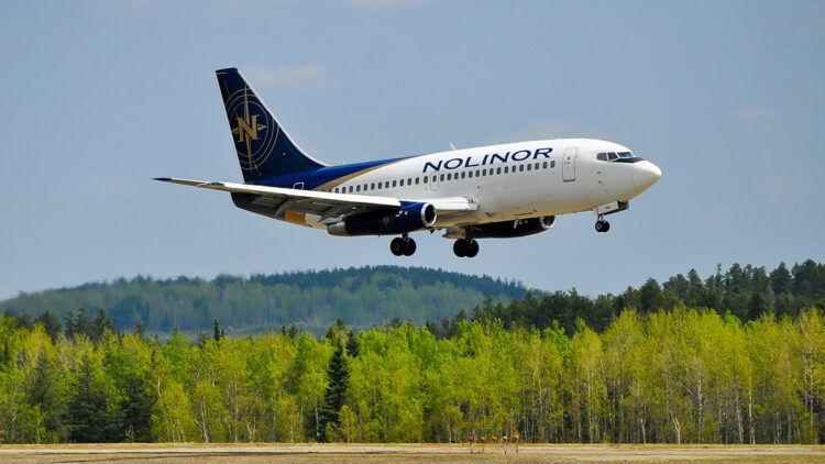 Nolinor Boeing 737 200 Copyright Nolinor