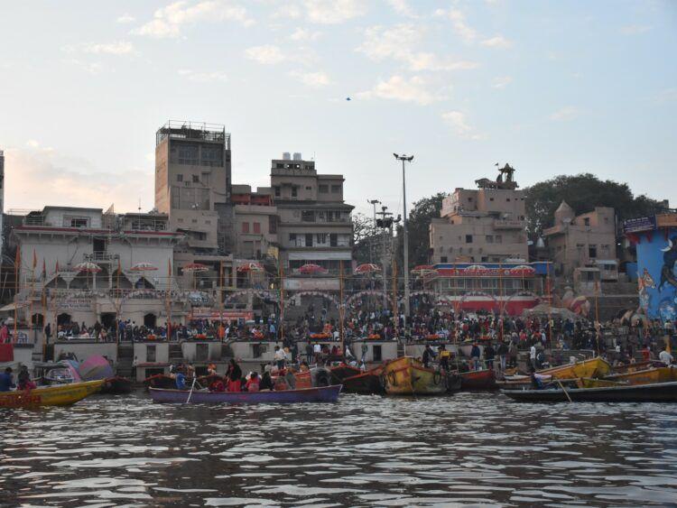Varanasi Ufer Des Ganges