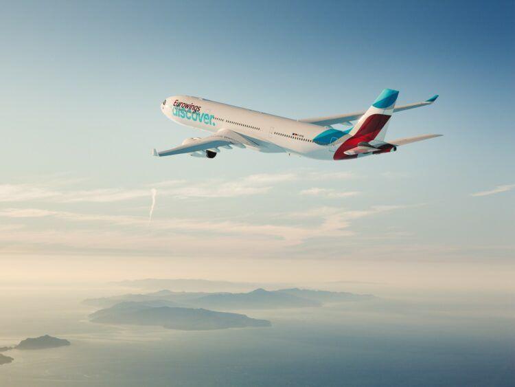 Eurowings Discover Flugzeug Copyright