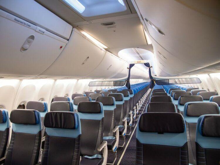 Klm Boeing 737 800 Neue Kabine Copyright
