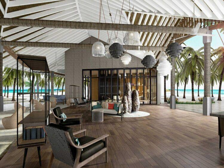 Le Meridien Maldives Resort And Spa Bar Copyright