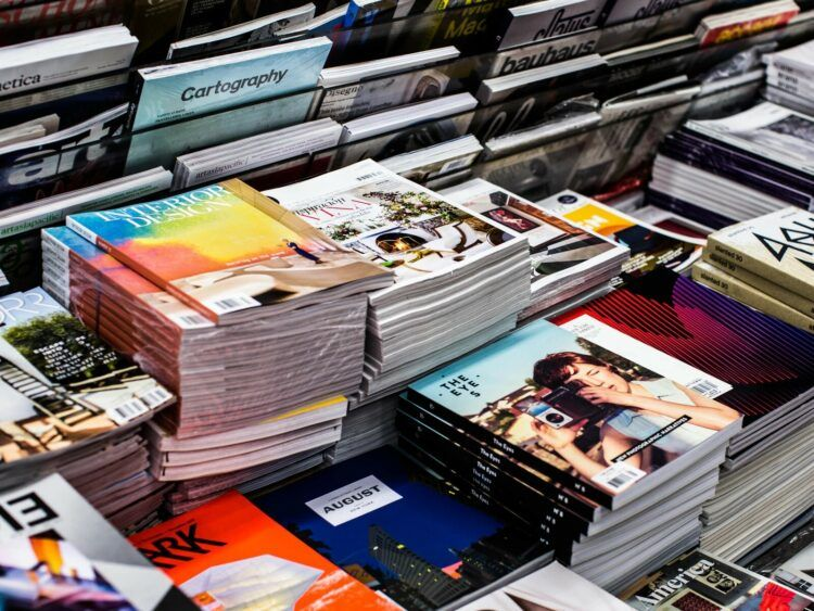 Magazine Unsplash