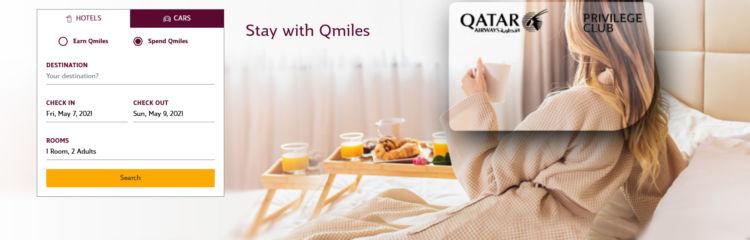 Qatar Airways Privilege Club Hotel And Car Rewards Buchungsmaske