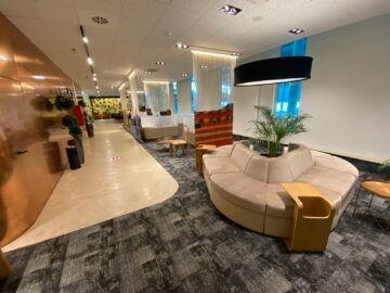 Airlounge Tirana Blick In Die Lounge