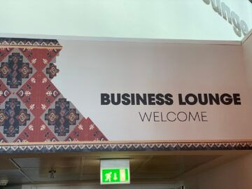 Airlounge Tirana Welcome