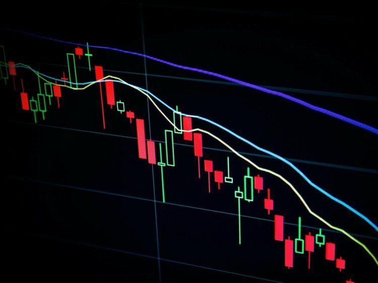 Aktienkurs Trading Chart