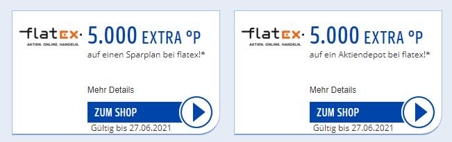 Payback Aktion Coupon Flatex