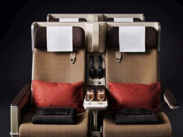 Swiss Premium Economy Class Sitze Copyright