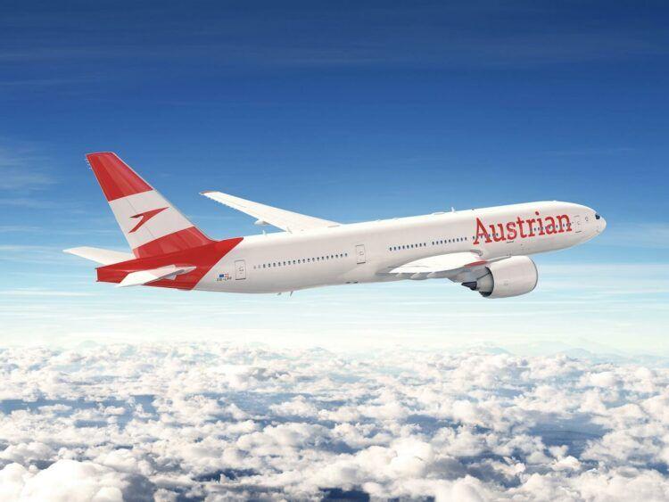 Austrian Airlines Boeing 777 200 Copyright