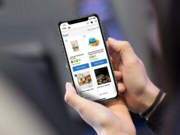 British Airways Catering Bestellung Per Smartphone Snacks Copyright