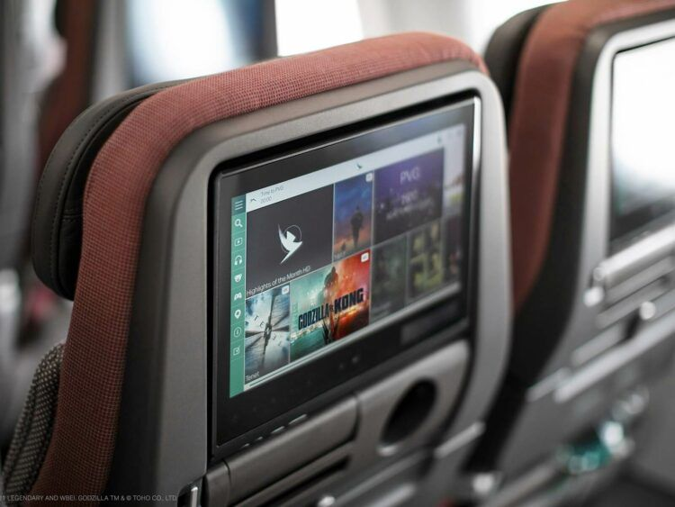 Cathay Pacific Airbus A321neo Economy Class Copyright