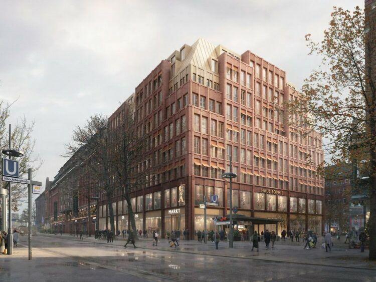 Hyatt Centric Altstadt Hamburg Geplante Fassade Copyright