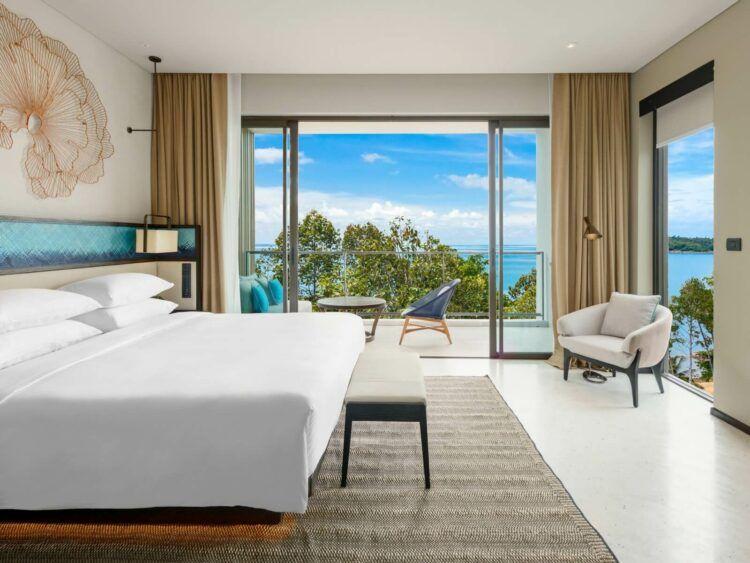 Hyatt Regency Koh Samui King Bed Copyright
