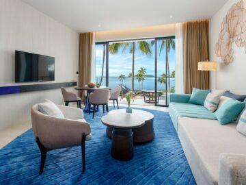 Hyatt Regency Koh Samui Suite Wohnzimmer Copyright
